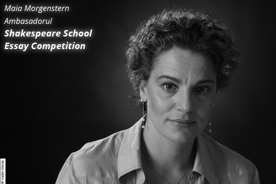 Maia Morgenstern, ambasadorul 2013 Shakespeare School Essay Competition