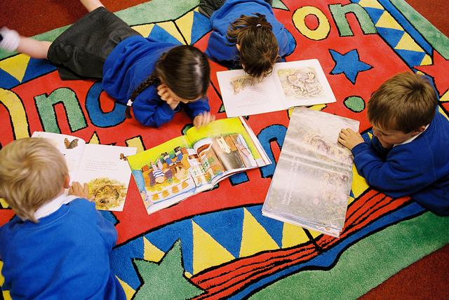 S-a lansat campania de încurajare a lecturii în rândul copiilor
