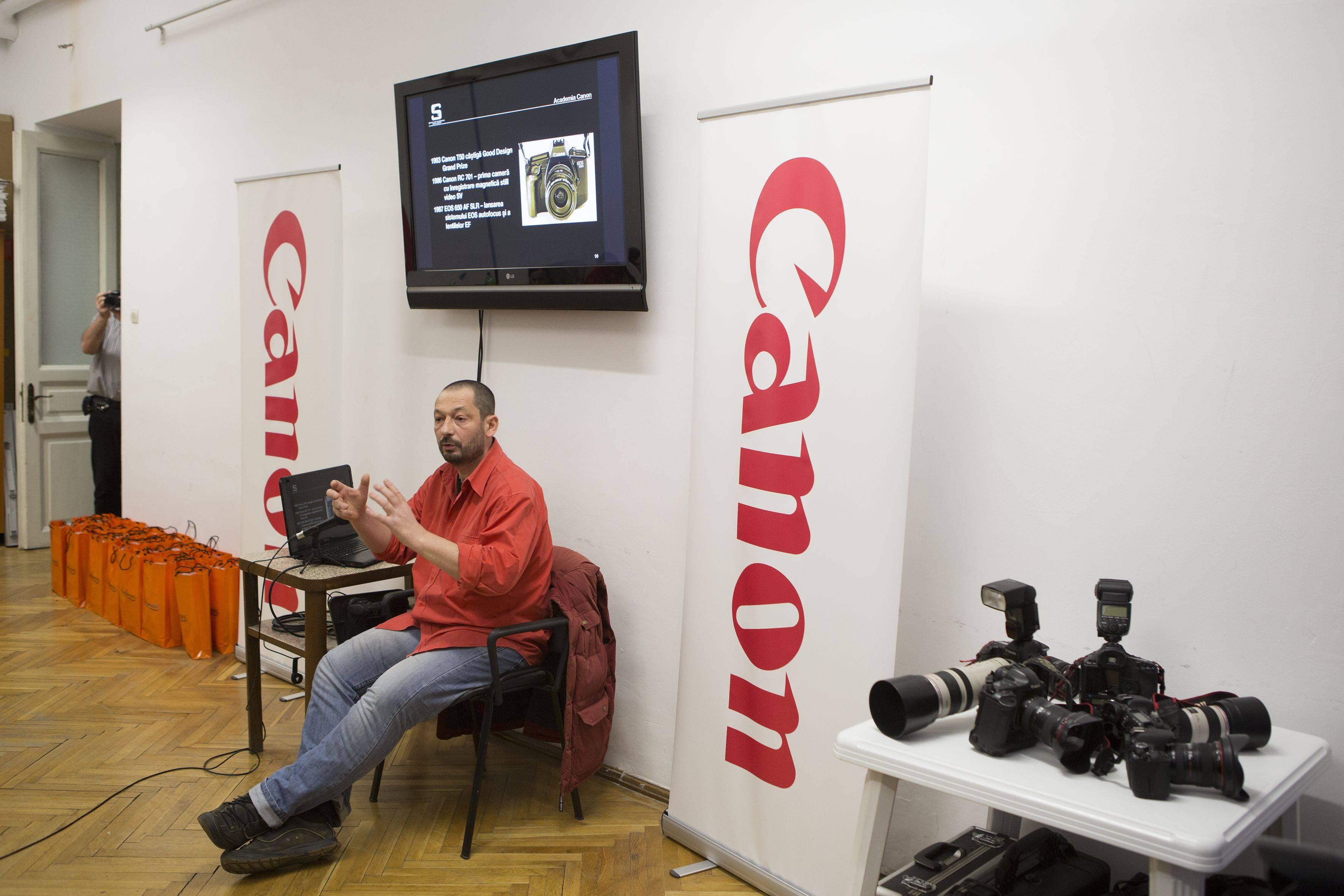 Canon România deschide academie pentru cei pasionați de fotografie