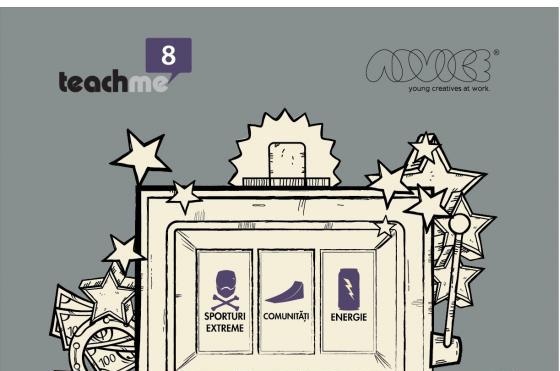 TeachMe, singura școală gratuită de publicitate, dă startul la înscrieri