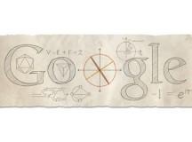 Matematicianul Leonhard Euler e sărbătorit de Google printr-un logo special