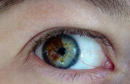 Ochii căprui sunt de fapt ochi albaștri