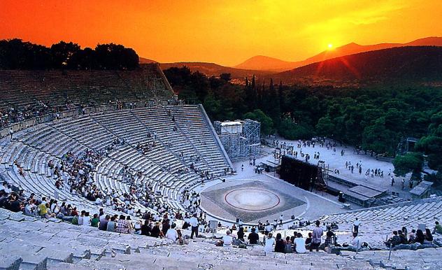 Teatrul din Epidaurus