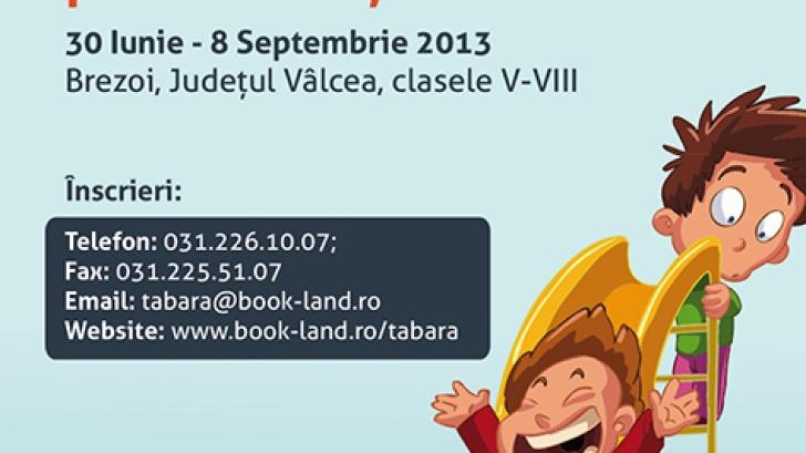Vară culturală pentru copii cu Tabăra COOLturala BookLand