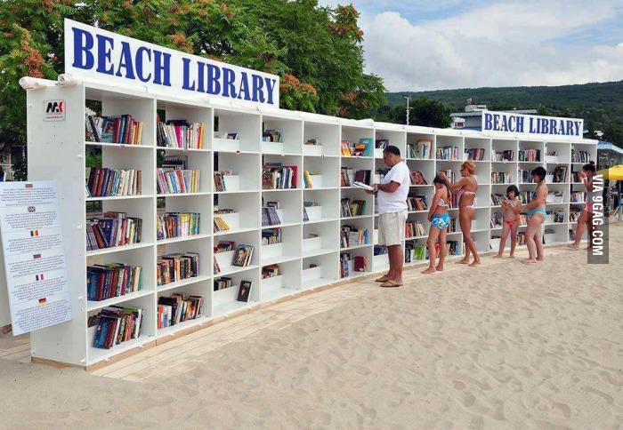 Stațiunea Albena a lansat prima bibliotecă pe plajă