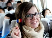 Studenții români care învață în străinătate petrec de 1 Decembrie
