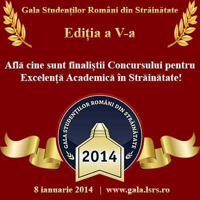Află cine sunt finaliștii Concursului pentru Excelență Academică în Străinătate!
