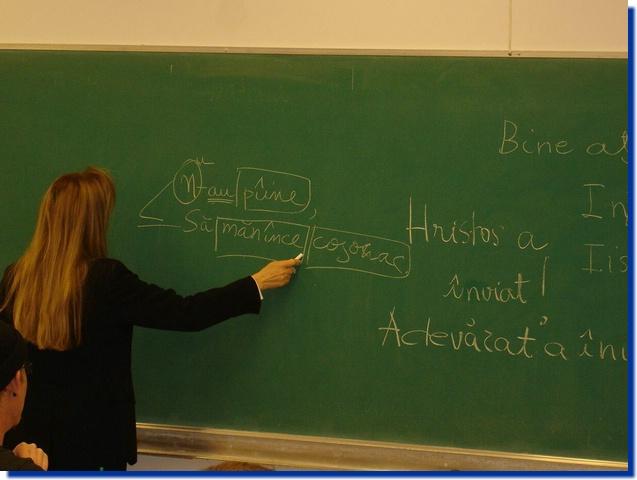 Limba română ar putea fi predată în școlile din Franța