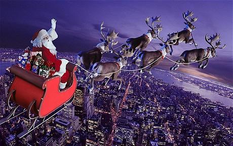 Moș Crăciun a pornit la drum ca să împartă darurile! Urmărește traseul Moșului, LIVE