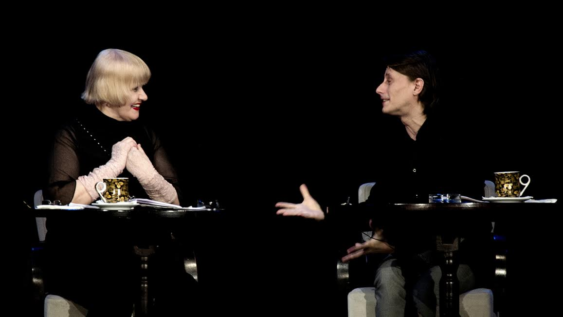 Rodica Mandache și Marius Manole dau viață literaturii pe scena Godot Cafe