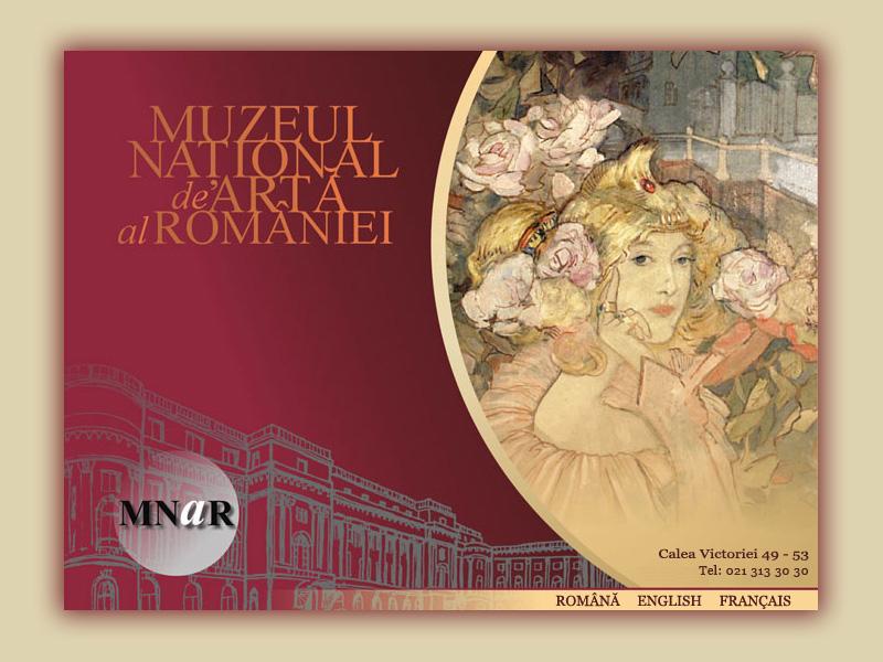 Muzeul Național de Artă al României va putea fi vizitat și virtual