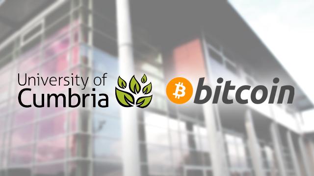Universitatea Cumbria din Marea Britanie va accepta plăți cu Bitcoin