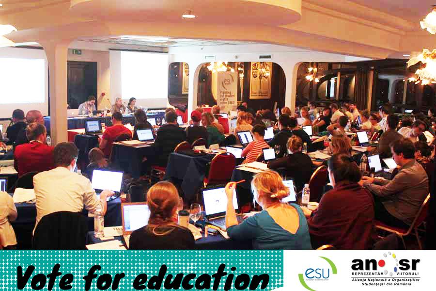ANOSR BM ESU Zagreb Vote for education