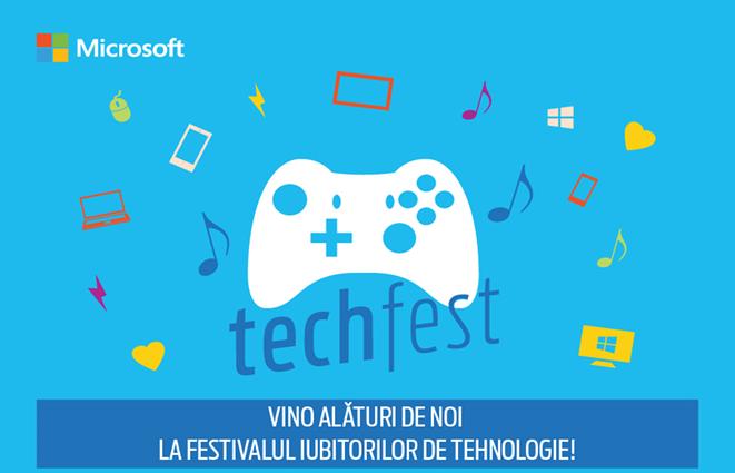 Microsoft Tech Fest, festivalul pasionaților de tehnologie vine în universitatea ta!