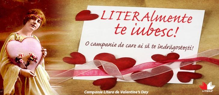 Intră în spiritul lunii îndrăgostiților cu Editura Litera