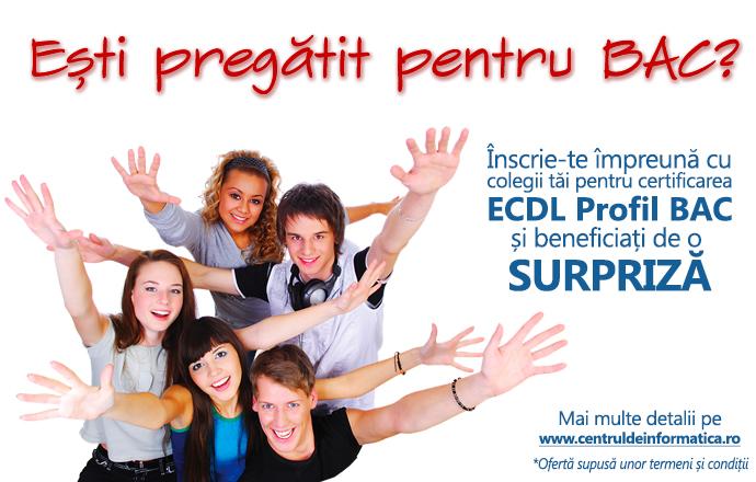 Elevii care au Permisul ECDL scapă de proba competențelor digitale la BAC