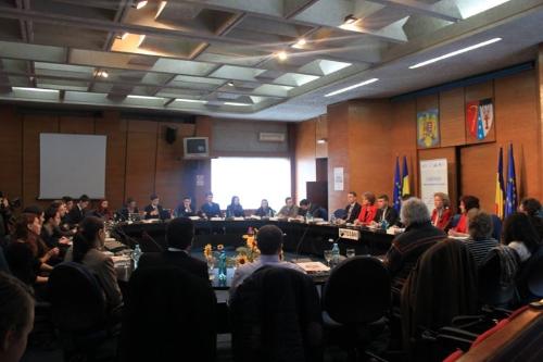 Elevi din întreaga țară și oficiali ai Ministerului Educației au fost prezenți la Conferința Națională de la Botoșani