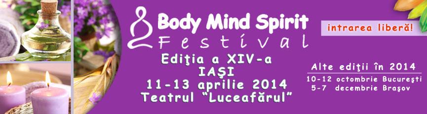 Participă la conferințele gratuite din cadrul Body Mind Spirit Festival Iași !