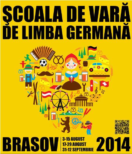 Vara asta înveți limba germană la Brașov