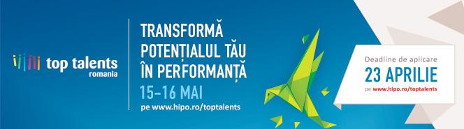 Top Talents România – cel mai mare eveniment de carieră dedicat tinerilor cu potențial din România