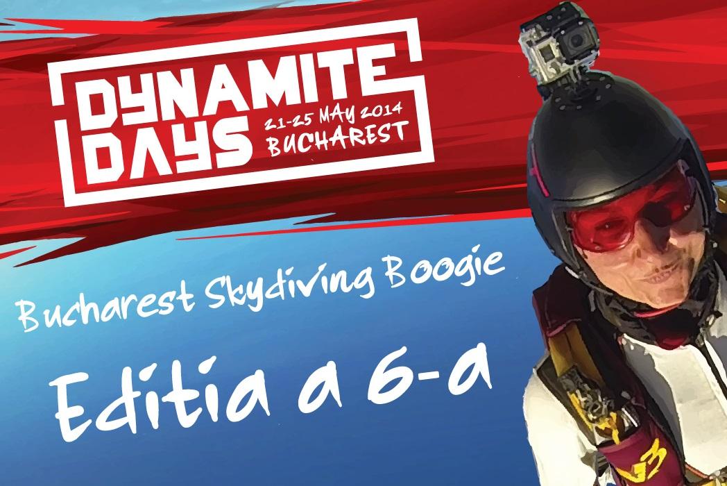 "Iubitorii de adrenalină pot participa la Festivalul de parașutism ""Bucharest Skydiving Boogie"""