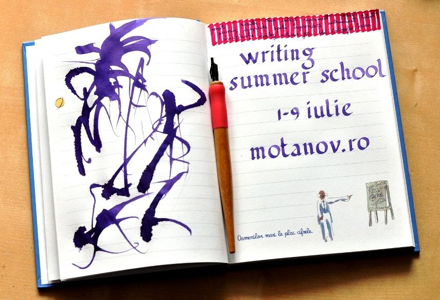 Academia Motanov organizează la București o școală de vară de scriere creativă