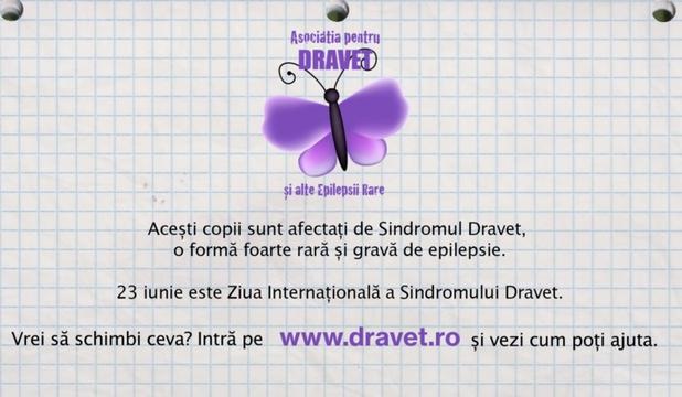 Astăzi este marcată în premieră Ziua Internațională a Sindromului Dravet