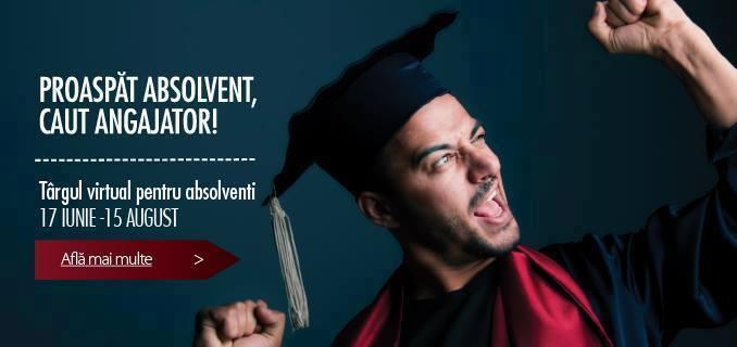 Peste 600 de joburi pentru studenții și absolvenții promoției 2014