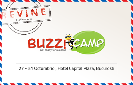 Au început înscrierile pentru BuzzCamp 12 – cel mai complex eveniment de dezvoltare personală și orientare în carieră