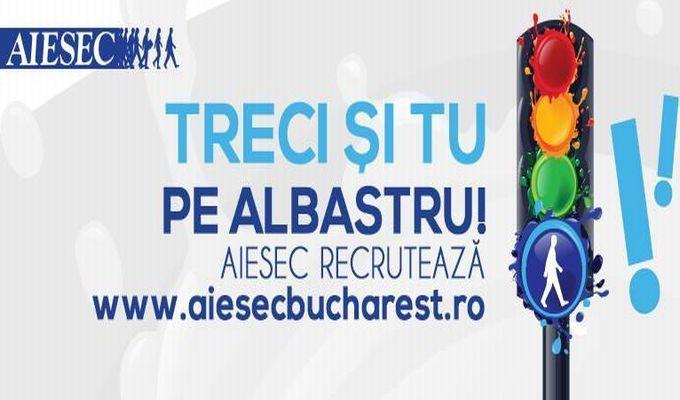 AIESEC recrutează: Treci și tu pe albastru!