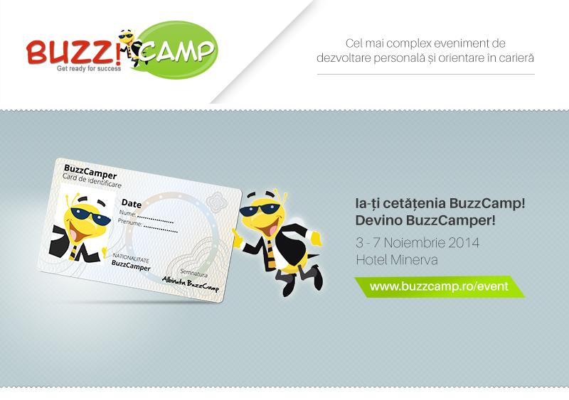 Devino BuzzCamper în cadrul celei de-a 12-a ediții BuzzCamp