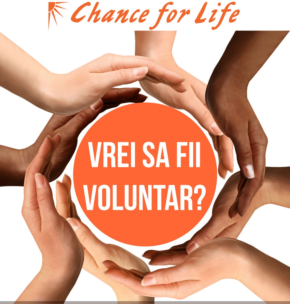 Fundația Chance for Life recrutează voluntari!