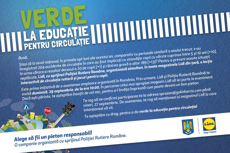 """Campania socială """"Verde la educație pentru circulație"""" a câștigat o competiție internațională în SUA"""