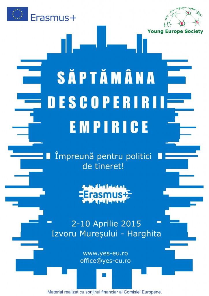 afis_Saptamana Descoperirii Empirice
