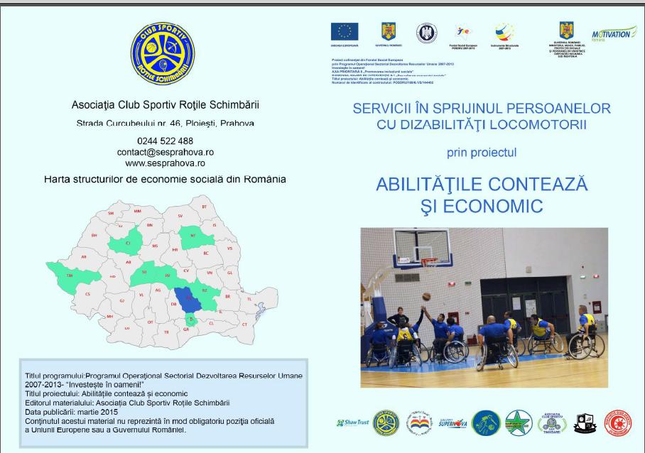 Asociația Club Sportiv Roțile Schimbării lansează Structura de Economie Socială