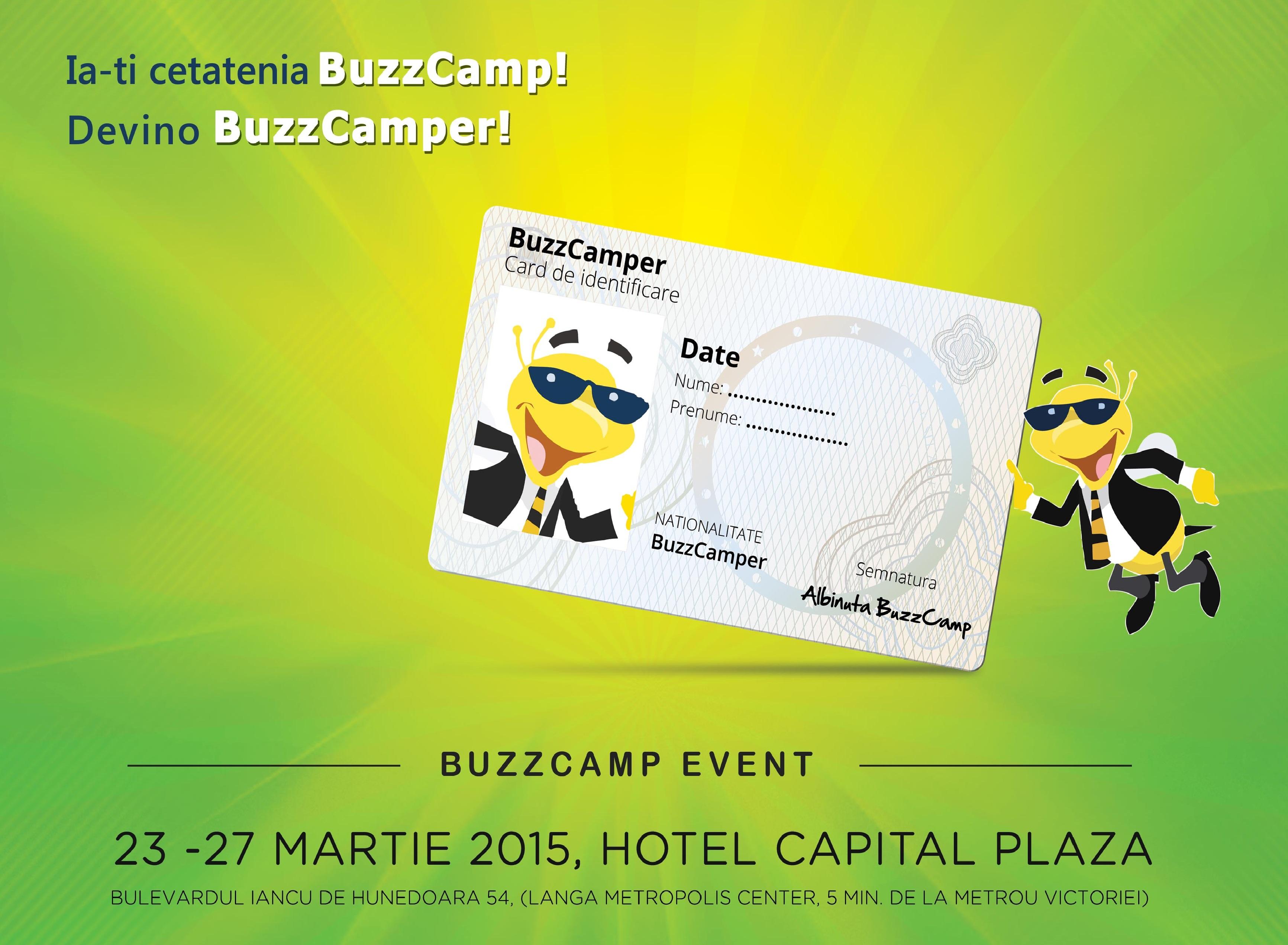 Ultimele înscrieri la BuzzCamp!