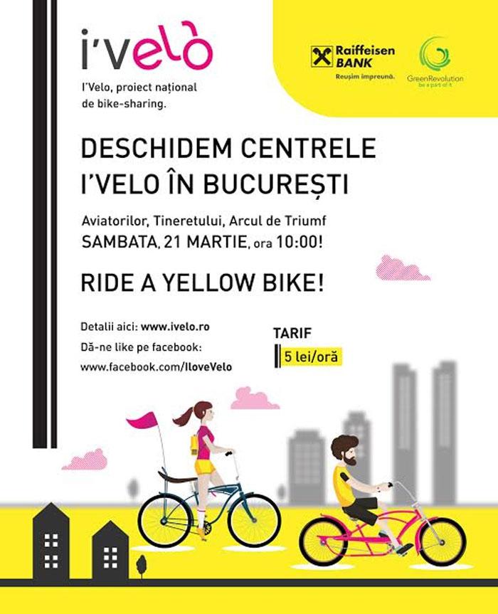Se redeschid centrele de închiriat biciclete din București