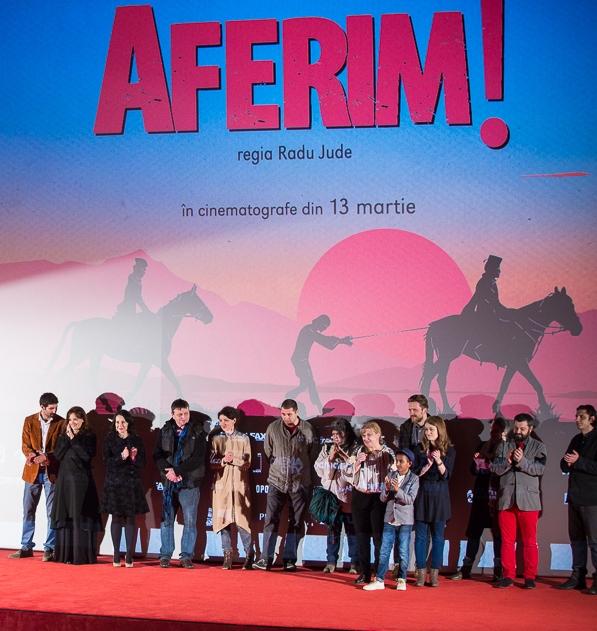 """""""AFERIM!""""- record absolut de spectatori pentru un film românesc la lansare"""