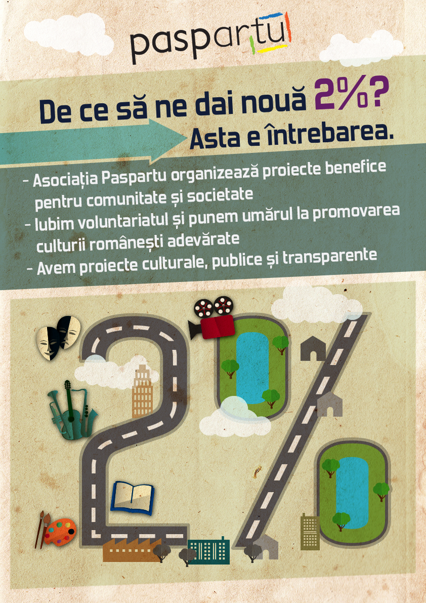 Asociația Paspartu și-a deschis campania de strângere de fonduri și sponsorizări