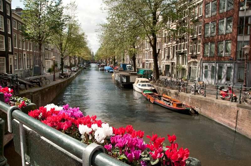 Olanda - Canale in Amsterdam