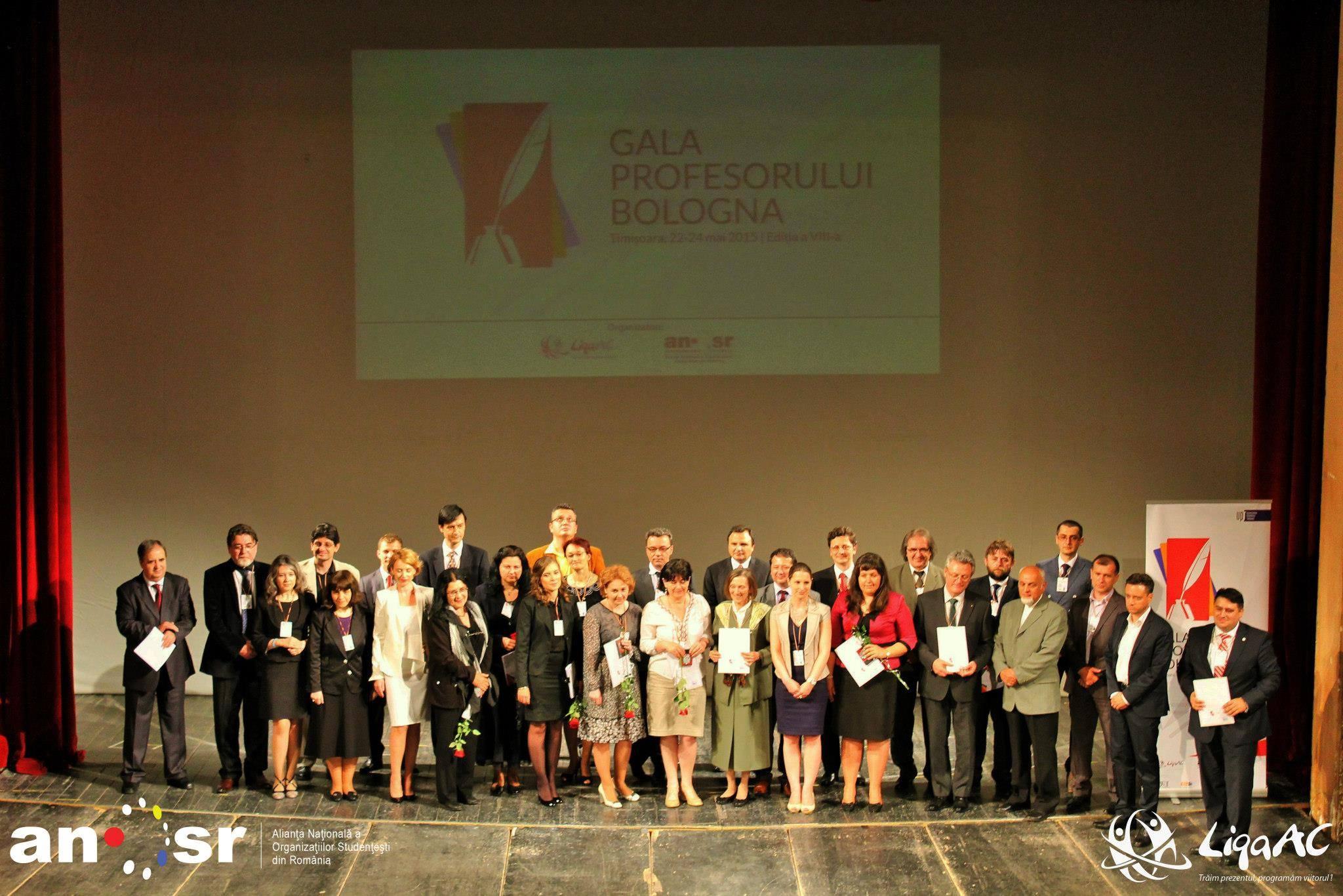 Cei mai iubiți profesori au fost premiați de studenți la Timișoara!