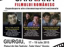 """Caravana filmului românesc"" ajunge la Giurgiu"
