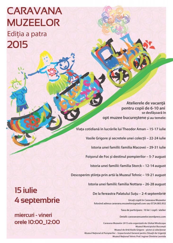 Caravana Muzeelor 2015