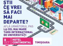 Pe 8 octombrie, 15% dintre universitatile de stat din Marea Britanie ajung in Timisoara