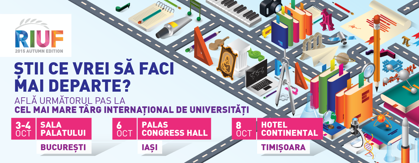 În octombrie, Timișoara găzduiește cel mai mare târg internațional de universități din Sud-Estul Europei