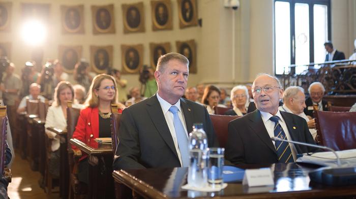 Președintele Klaus Iohannis cere mai mulți bani pentru cercetare