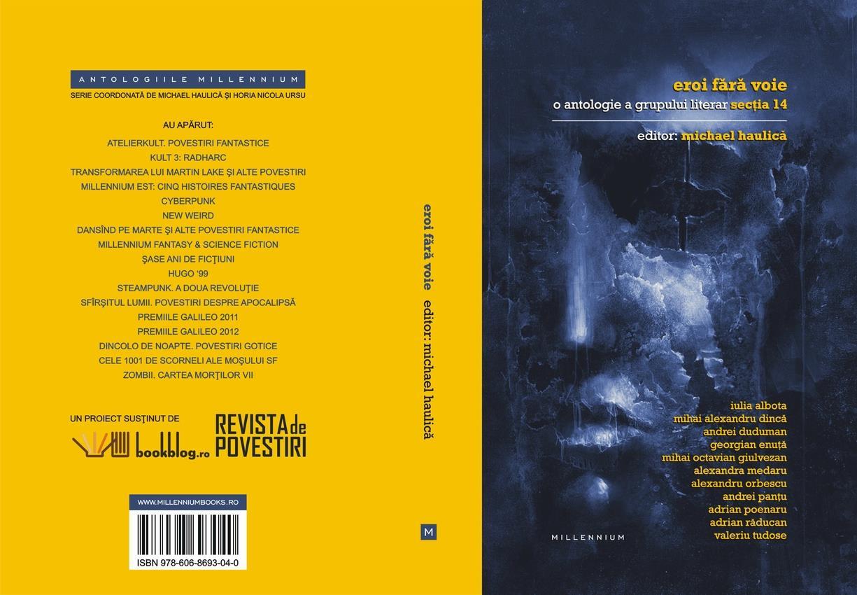 Lansarea primei antologii rezultată în urma unui atelier de scriere creativă
