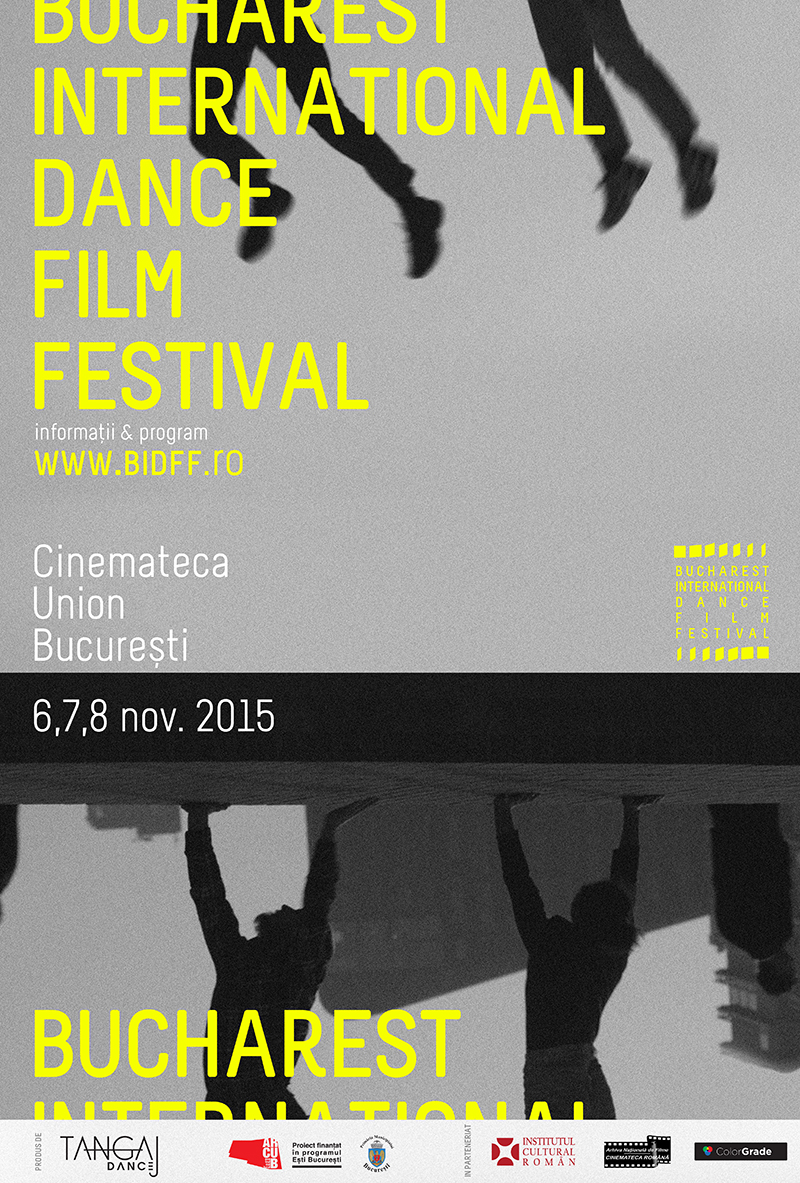 Bucharest International Dance Film Festival debutează pe 6 Noiembrie