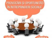 """Invitație la Evenimentul """"Provocări și Oportunități în Întreprinderi Sociale"""""""