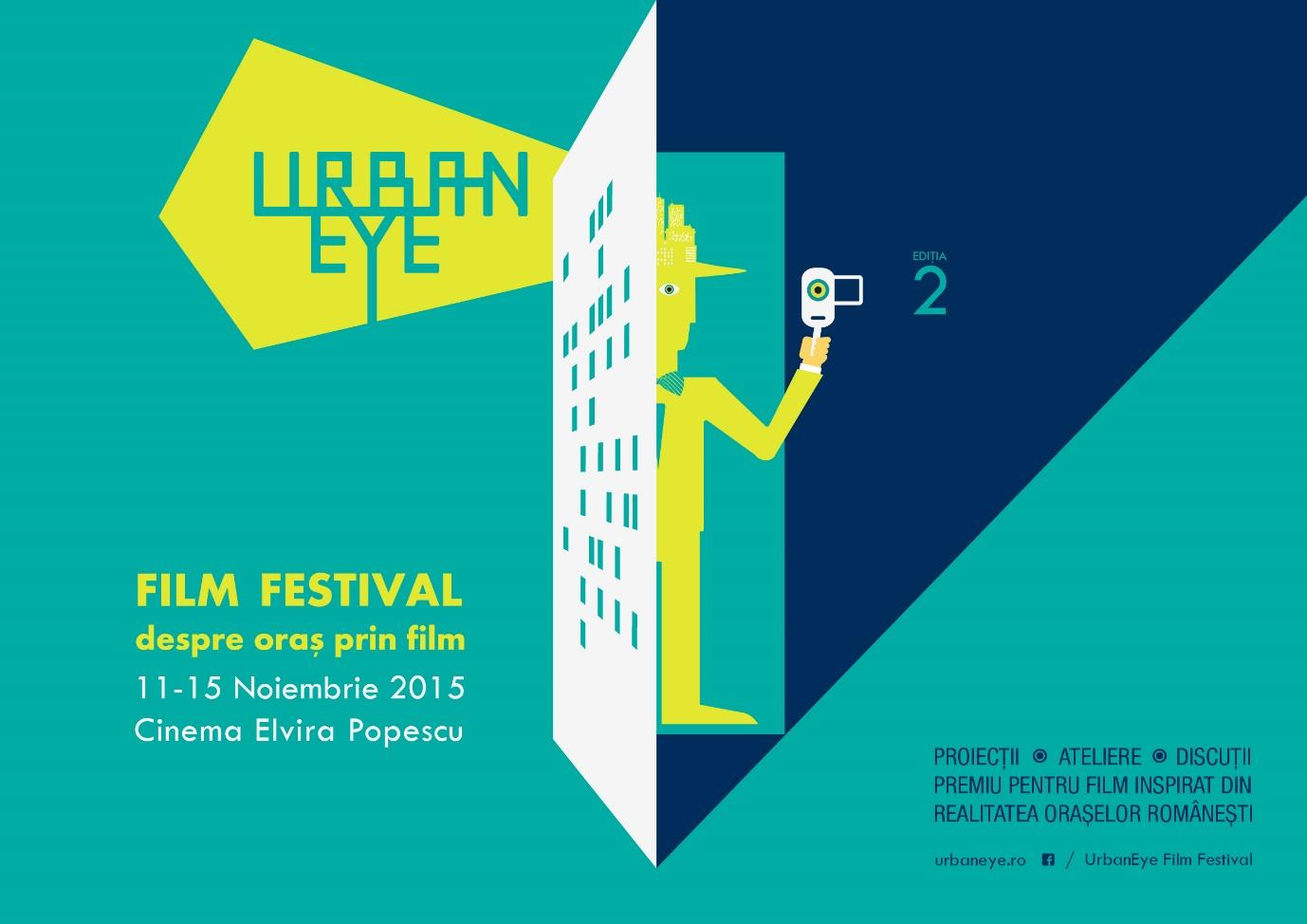 UrbanEye Film Festival, ediția a doua: 11 – 15 noiembrie 2015!